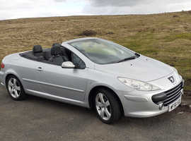 Peugeot 307, 2006 (56) Silver Coupe, Manual Diesel, 79,000 miles