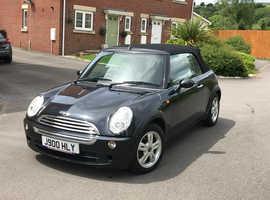 Mini MINI, 2005 (05) Black Convertible, Cvt Petrol, 75,000 miles