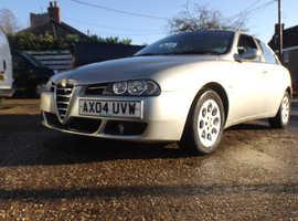 Alfa Romeo 156, 2004 (04) Beige Saloon, Manual Petrol, 126,560 miles