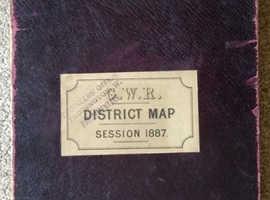 1887 Railway Map