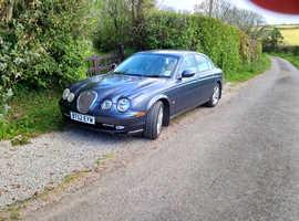 Rare manual classic Jaguar S type