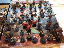 Star wars minitures classic boardgame vintage collectors item