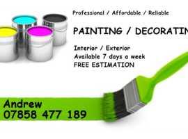 Painter & Decorator / Home Improvement /
