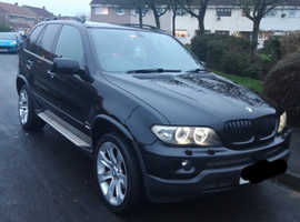 BMW X5, 3L, (06) MSport, Black, Automatic Diesel, 137,000 miles