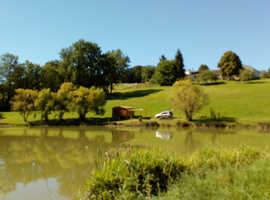 Country House in the Dordogne with Private Fishing Lake