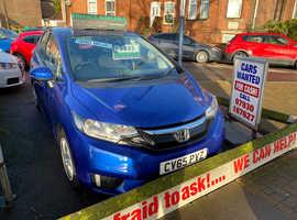 Honda Jazz, 2015 (65) Blue Hatchback, Cvt Petrol, 40,339 miles