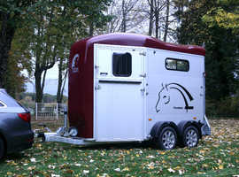 Cheval Liberte Touring Country Horse Trailer In Red - Coming Soon