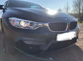 BMW 4 Series, 2016 (16) Black Coupe, Semi auto Petrol, 22000 miles