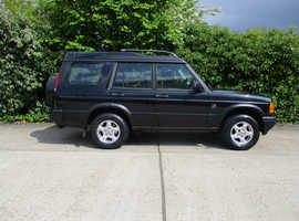 Land Rover Discovery, 2002 (52) BlacLANDROVER DISCOVERY TD5 DIESEL 7 SEATER ONLY 1 ELDERLY OWNER FOR THE PAST 13 YEARS MOT UNTIL 2020k Estate, Manual