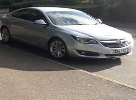 Vauxhall Insignia, 2015 (15) silver hatchback, Manual Diesel, 92,350 miles