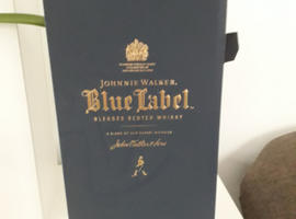 Johnnie Walker Blue Label and Brookies BYRON DRY GIN!!!!