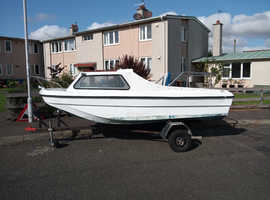 Sea Hog Trio  14ft fishing boat. Ready for the water based in Scotland