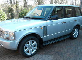 Land Rover Range Rover, 2005 (54) Silver Estate, Automatic Petrol, 68,000 miles