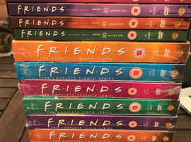 Friends DVD's Series 1-10