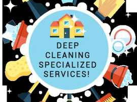 Hello, we offert cleaning services in East London.  Check description below, ty.