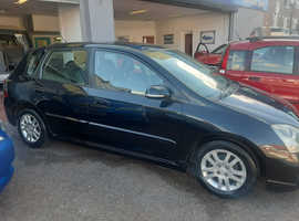 Honda Civic, 2005 (05) Black Hatchback, Manual Petrol, 152,000 miles