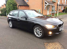 BMW 320D SE xDrive Auto, 2014, Full leather, Heated front seats, SAT NAV,  99000 miles