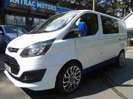 2015 15 Ford TRANSIT CUSTOM 290 ECO-TE 6 SEATER KOMBI SWB