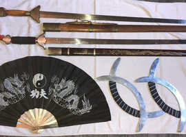 Martial art weapons , sword kung fu