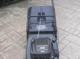 Hayter Harrier 48 Quantum power professional self propelled lawn mower with steel roller