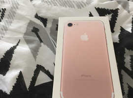 iPhone 7 32g in rose gold