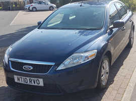 Ford Mondeo, 2010 (10) Blue Hatchback, Manual Diesel, 90,000 miles