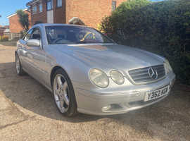 Mercedes CL500 SERVICE HISTORY ,FAST CAR