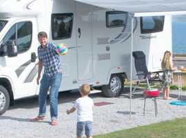 All Year Round Super Touring Pitch At Wig Bay Holiday Park - DG9 0PS