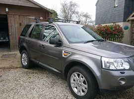 Land Rover Freelander, 2007 (07) grey estate, Manual Diesel, 103,800 miles