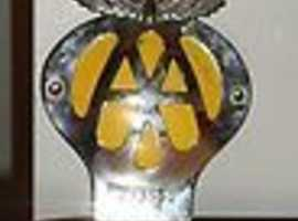 Vintage 1950/1960's AA Car Grill Badge