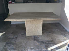 Dining Table - Solid Marble