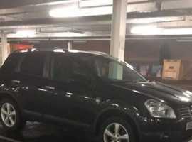 Nissan Qashqai, 2009 (59) Black Hatchback, Manual Diesel, 114,479 miles