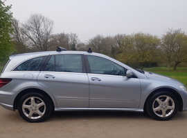MERCEDES BENZ R CLASS, R320 CDI AUTOMATIC 4X4 7 SEATER, 2009 (09) HORIZON BLUE, 106000 MILES. FULL SERVICE HISTORY.