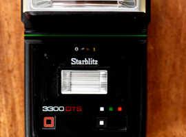 Starblitz 3300 DTS   Multi Dedicated Thyristor Computer Twin Flash Unit  Bounce / Swivel Flash