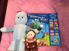 Iggle piggle toy and book