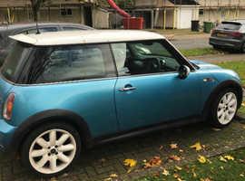 Mini MINI, 2004 (04) Blue Hatchback, Manual Petrol, 109,000 miles
