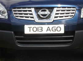 TOBAGO (TO13 AGO) A unique private number plate!