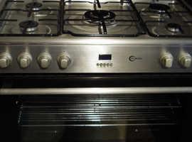 90cm flavel duel fuel range cooker