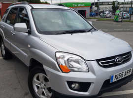 Kia Sportage, 2010 (10) Silver Estate, Manual Diesel, 83,251 miles