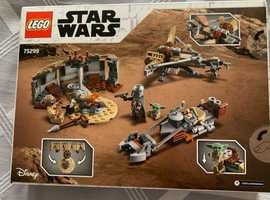 Lego set trouble on tatooine