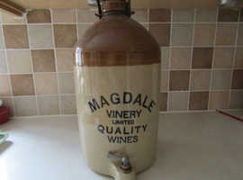 Stone wine flagon by Magdale