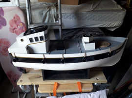 Trawler type rc model boat