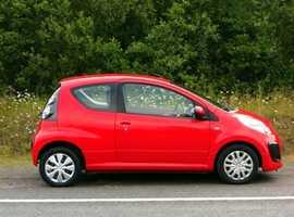 Citroen C1, 2012 (62) Red Hatchback, Manual Petrol, 65,000 miles, 01443 831670