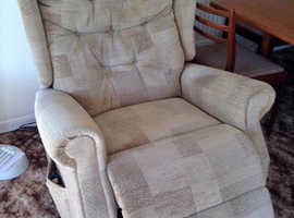 Extra Wide Celebrity Dual Motor Rise and Recliner Mobility Chair - Can Deliver