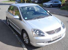 Honda Civic 2005 (55) Silver. Manual..Petrol, 104000 miles
