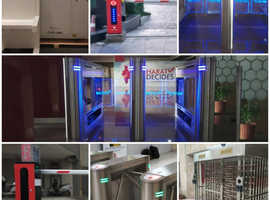 CCTV Camera, Door Frame Metal Detector installation