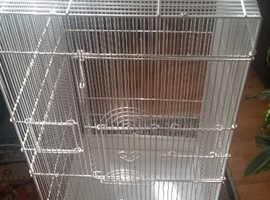 very big bird cage  size long 44 cm high 92 cm wide 44 cm