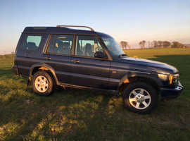 Land Rover Discovery, 2004 (54) Blue Estate, Manual Diesel, 118,000 miles