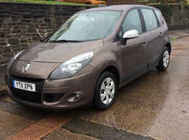 11 Plate Renault Scenic,Only 47,000 miles,Serviced BARGAIN £2100