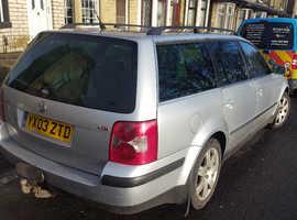 Volkswagen Passat, 2003 (03) Silver Estate, Manual Diesel, 179,200 miles
